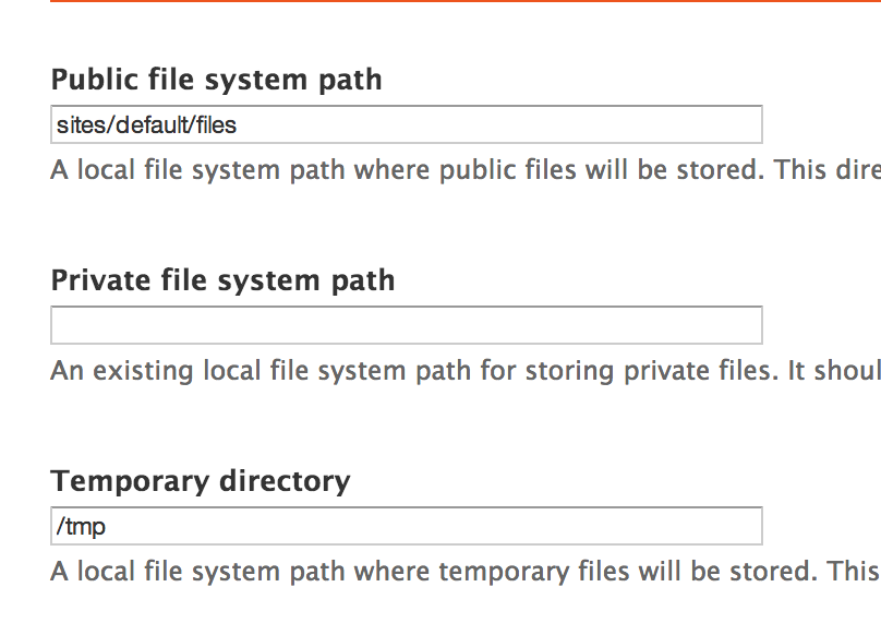 public file system path