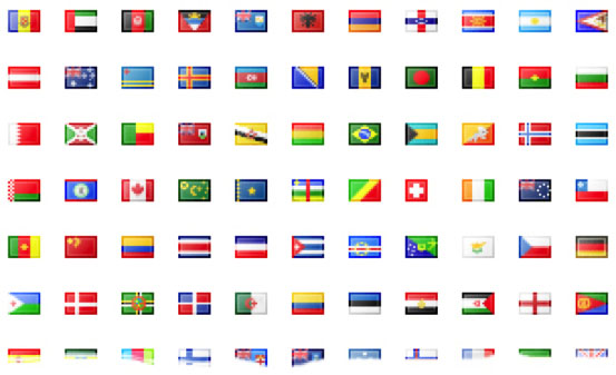 national flags (this is the first one, you can tell by the 1 in the name)