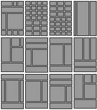 Too many layouts